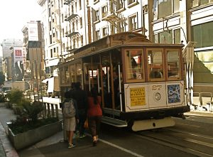 Tupelo Press San Francisco Bay Writers' Conference, streetcar