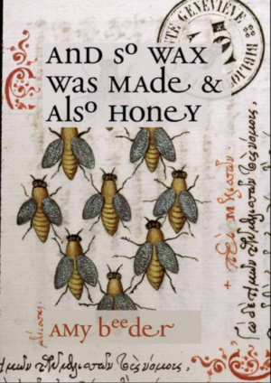 And So Wax Was Made & Also Honey by Amy Beeder